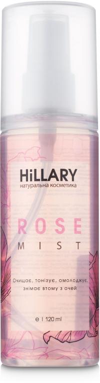 Розовая вода для лица - Hillary Rose Mist