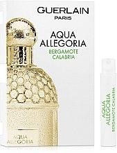 Парфумерія, косметика Guerlain Aqua Allegoria Bergamote Calabria - Туалетна вода (пробник)
