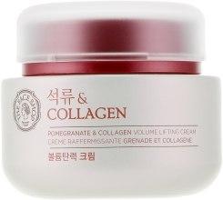 Духи, Парфюмерия, косметика Питательный лифтинг-крем для лица - The Face Shop Pomegranate and Collagen Volume Lifting Cream