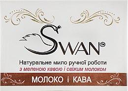 """Духи, Парфюмерия, косметика Натуральное мыло ручной работы """"Молоко и кофе"""" - Swan"""