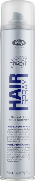 Лак-спрей нормальной фиксации - Lisap High Tech Hair Spray Natural
