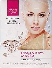 """Духи, Парфюмерия, косметика Маска для лица """"Бриллиантовая"""" - Czyste Piekno Diamond Face Mask"""