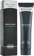 Духи, Парфюмерия, косметика РАСПРОДАЖА Пилинг-маска для лица - Mon Platin DSM Black Caviar Peeling Face Mask With Vitamins Capsules *