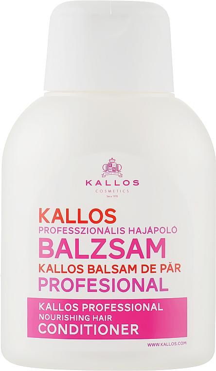 Кондиціонер для волосся - Kallos Cosmetics Nourishing Conditioner — фото N1