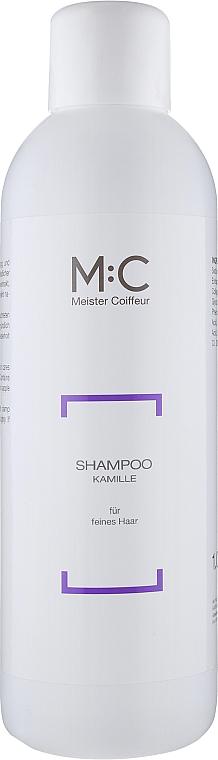 Шампунь ромашковый - Meister Coiffeur Camomile Shampoo