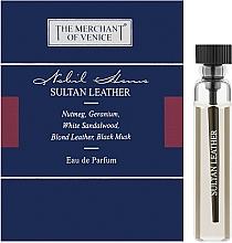Духи, Парфюмерия, косметика The Merchant Of Venice Sultan Leather - Парфюмированная вода (пробник)