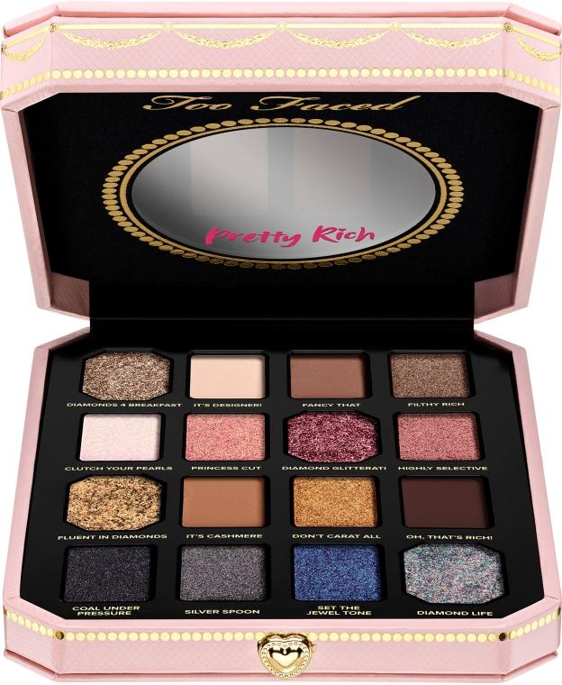 Палетка теней для век - Too Faced Pretty Rich EyeShadow Palette