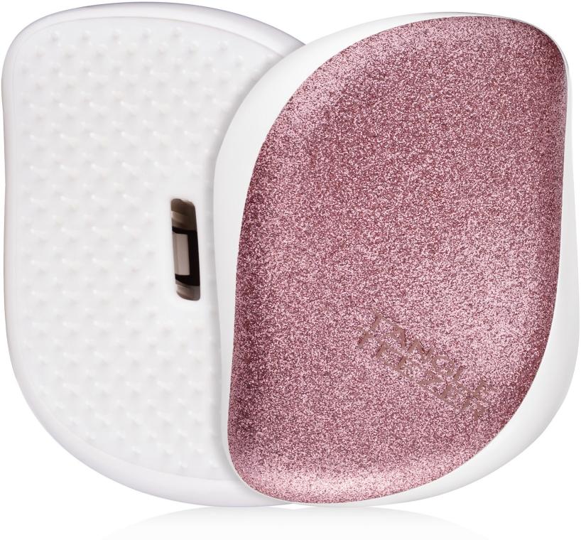 Компактная щетка для волос - Tangle Teezer Compact Styler Glitter Rose
