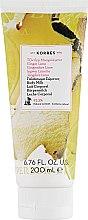 "Духи, Парфюмерия, косметика Молочко для тела ""Имбирь и Лайм"" - Korres Body Milk Ginger Lime"