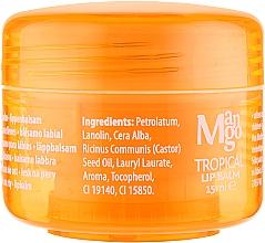 Бальзам Для Губ - Mades Cosmetics Body Tropical Resort Mango Lip Balm — фото N2