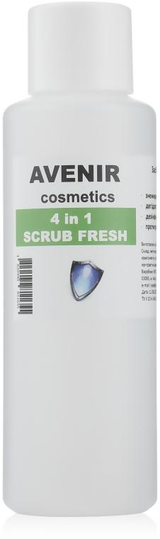 Обезжириватель для ногтей - Avenir Cosmetics Scrub Fresh