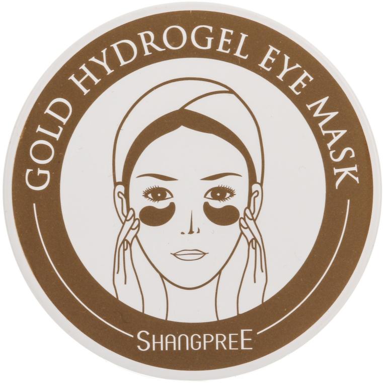 Гидрогелевая маска-компресс для контура глаз - Shangpree Gold Hydrogel Eye Mask