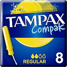 Духи, Парфюмерия, косметика Тампоны с аппликатором, 8шт. - Tampax Compak Regular