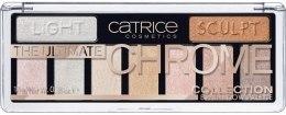 Духи, Парфюмерия, косметика Палетка теней - Catrice The Ultimate Chrome Collection
