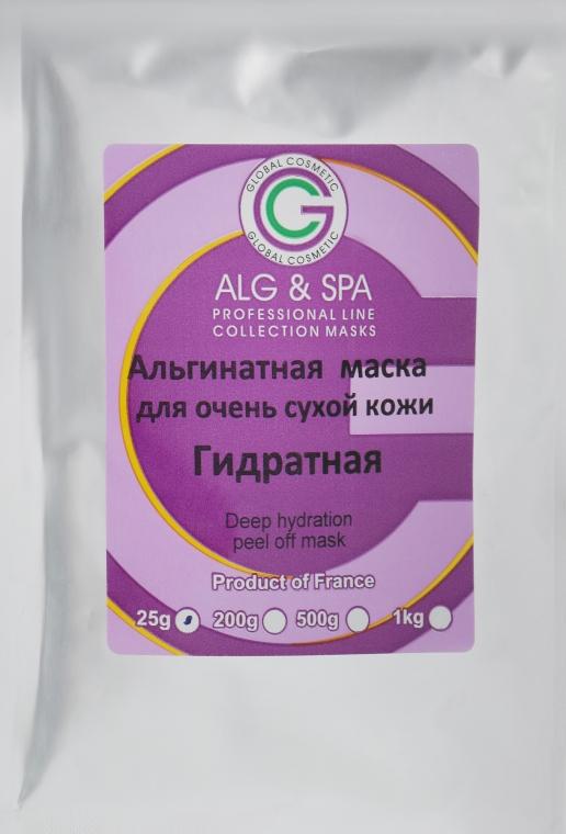 Гидратная альгинатная маска для очень сухой и чувствительной кожи - ALG & SPA Professional Line Collection Masks Deep Hydration Peel Off Mask