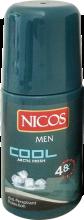 Духи, Парфюмерия, косметика Шариковый дезодорант - Nicos Roll On For Men Cool Touch