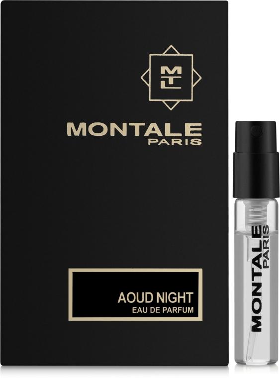 Montale Aoud Night - Парфюмированная вода (пробник)