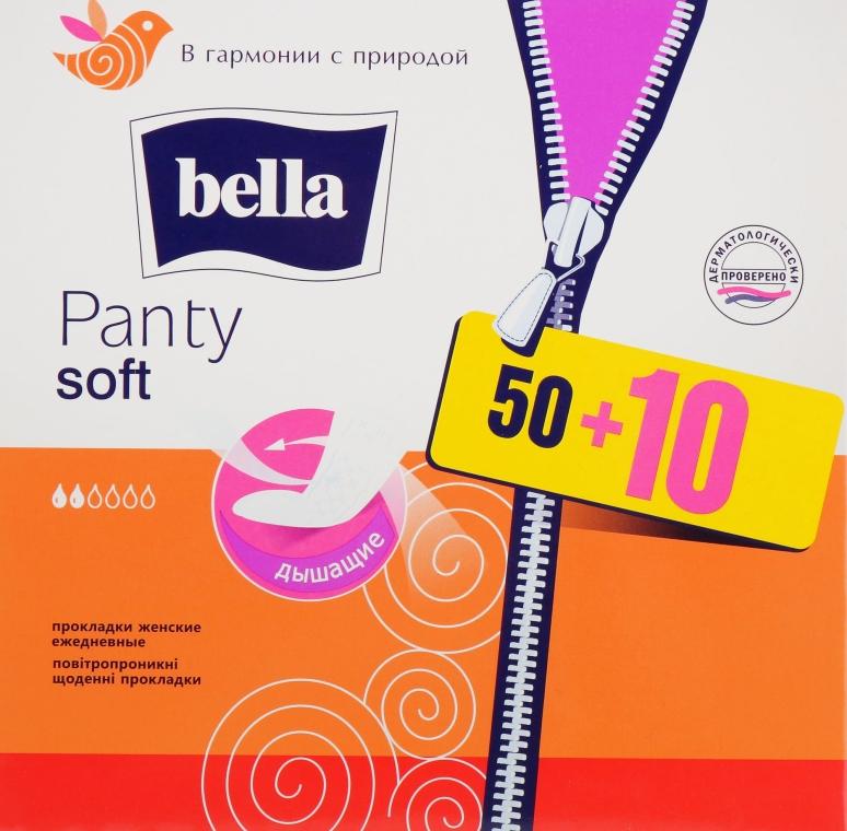 Прокладки Panty Soft, 60шт - Bella