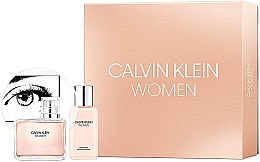 Духи, Парфюмерия, косметика Calvin Klein Women - Набор (edp/100ml + b/lot/100ml)