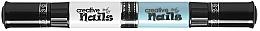 Духи, Парфюмерия, косметика Лак-карандаш для ногтей детский на водной основе, белый + голубой - Creative Nails