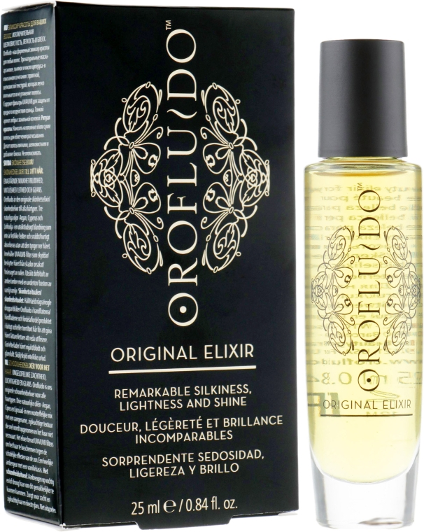 Эликсир красоты - Orofluido Original Elixir Remarkable Silkiness, Lightness And Shine