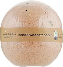 "Духи, Парфюмерия, косметика Бомба для ванны ""Сандаловое дерево и табак"" - Stara Mydlarnia Bath Bomb Sandal Wood And Tobacco"