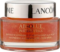 Духи, Парфюмерия, косметика Восстанавливающая маска с лепестками роз - Lancome Absolue Precious Cells Nourishing and Revitalizing Rose Mask