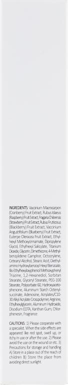 Ягідний сонцезахисний крем - Esfolio Berry Mix Sun Cream SPF50 — фото N3
