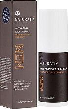 Духи, Парфюмерия, косметика Мужской антивозрастной крем для лица - Naturativ Men Face Cream