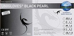 Духи, Парфюмерия, косметика Перчатки из нитрила большие, черные - Comair Black Pearl