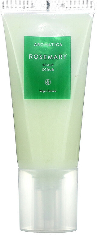 Скраб для кожи головы с розмарином - Aromatica Rosemary Scalp Scrub