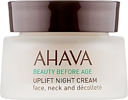 Духи, Парфюмерия, косметика Лифтинговый ночной крем широкого спектра - Ahava Beauty Before Age Uplifting Night Cream For Face, Neck & Decollete