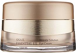 Духи, Парфюмерия, косметика Антивозрастной крем для глаз - The Saem Snail Essential EX Wrinkle Solution Eye Cream