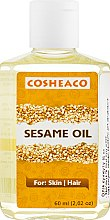 Духи, Парфюмерия, косметика Масло семян кунжута для лица, волос и тела - Cosheaco Sesame Oil