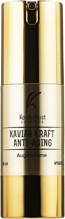 Крем для век с экстрактом черной икры и золотом - KosmoTrust Cosmetics Anti-Aging Kaviar Kraft Augencreme
