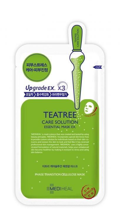 Успокаивающая тканевая маска - Mediheal Teatree Care Solution Essential Mask Ex