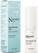 Духи, Парфюмерия, косметика Сыворотка для лица с 15% концентрацией ниацинамида - Nacomi Next Level Niacinamide 15%