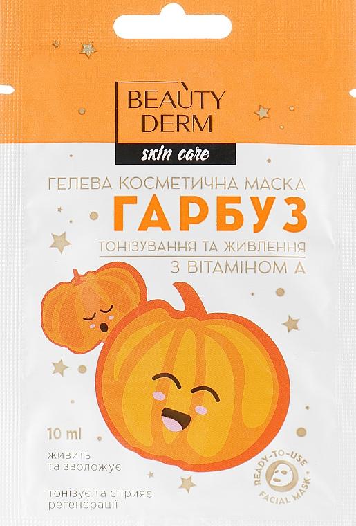 Гелевая косметическая маска с тыквой и витамином А - Beauty Derm Skin Care