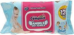 Духи, Парфюмерия, косметика Детские влажные салфетки - Ultra Compact Angels Wet Towels Advantage Pack