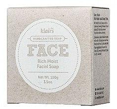 Духи, Парфюмерия, косметика Мыло для лица увлажняющее - Klairs Rich Moist Facial Soap