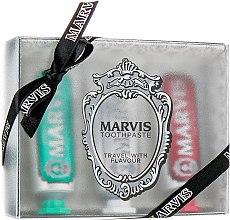 "Духи, Парфюмерия, косметика Набор ""Travel With Flavour"" - Marvis (toothpast/3x25ml)"
