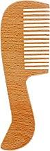 Духи, Парфюмерия, косметика Гребень для волос, деревянный, 1554 - SPL