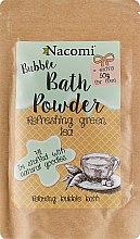 """Духи, Парфюмерия, косметика Пудра для ванны """"Освежающий зеленый чай"""" - Nacomi Bath Powder"""