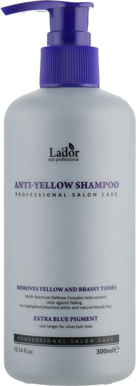 Шампунь против желтизны волос - La'Dor Anti Yellow Shampoo