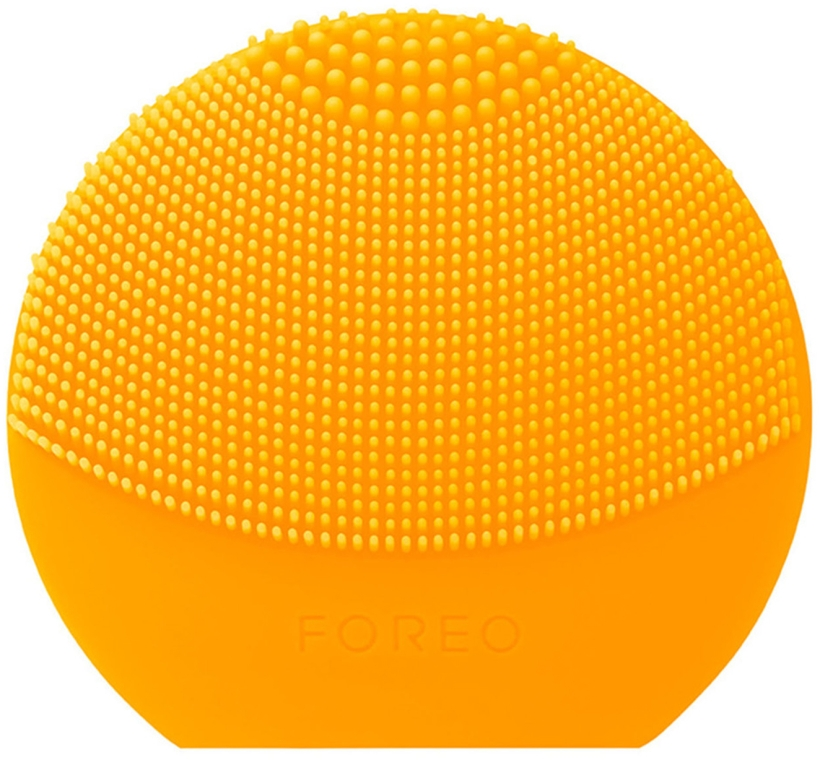 Щеточка для очистки лица и спа-массажа - Foreo Luna Play Plus Sunflower Yellow