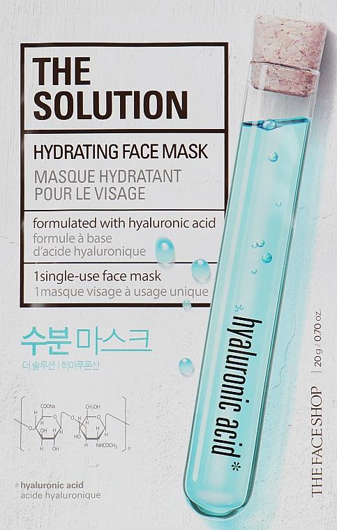 Увлажняющая маска для лица - The Face Shop The Solution Hydrating Face Mask