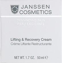 Духи, Парфюмерия, косметика Восстанавливающий крем с лифтинг-эффектом - Janssen Cosmetics Lifting & Recovery Cream