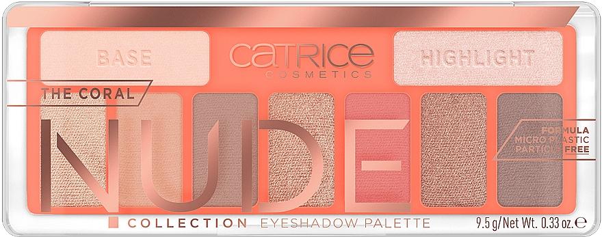 Палетка теней для век - Catrice The Coral Nude Collection Eyeshadow Palette