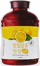 Духи, Парфюмерия, косметика Тканевая маска для лица - A'pieu Fruit Vinegar Lemon Sheet Mask