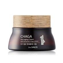 Духи, Парфюмерия, косметика Омолаживающий крем с Чага - The Saem CHAGA Anti-wrinkle Cream